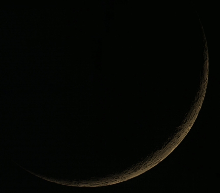 new moon - moon, new moon, nature, space