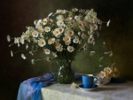daisies and tea time