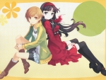 Persona 4 Chie and Yukiko