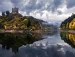 Le Chateau d'Alleuze, France