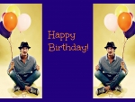Eric Balfour says Happy Birthday to you!