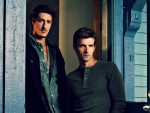 Eric Balfour and Lucas Bryant