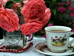 Coffee at garden
