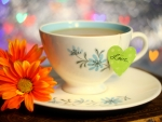 Cup of tea with love