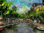 Painting of Amsterdam