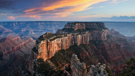 Grand Canyon 1 - National Park, Grand Canyon, Arizona, scenery, landscape, photography, wide screen, photo, USA, nature