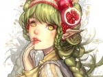 Pomegranate Elf