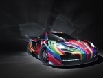 color & art at McLaren car