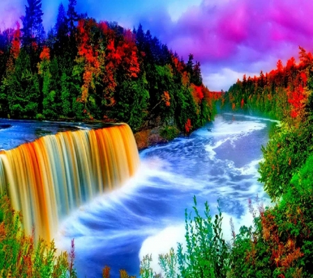 Colorful nature forces of nature nature background - Nature wallpaper status ...