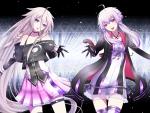 Vocaloids IA and Yuzuki yukari