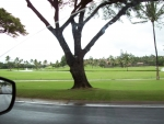 The drive to the Maui resort