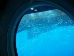 Viewport in submarine