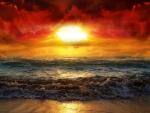 sunset or sunrise  gorgeous