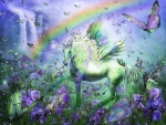 Unicorn of the Butterflies