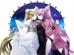 Princess Serenity & Black Lady