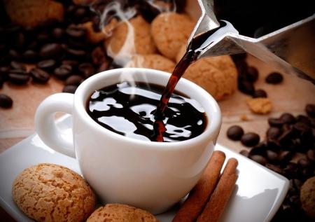Coffee - cake, drink, morning, coffee
