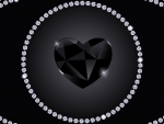 BLACK HEART Diamond