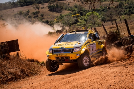 Ford Ranger - thrill, 4x4, offroad, rally