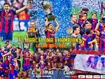 FC BARCELONA CHAMPIONS LA LIGA 2014 - 2015