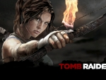 Lara with a bow