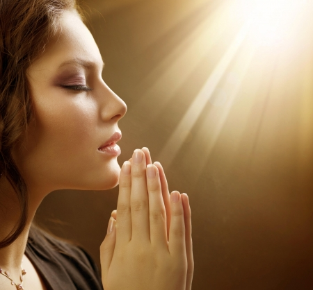 Prayer - girl, peace, prayer, woman, god