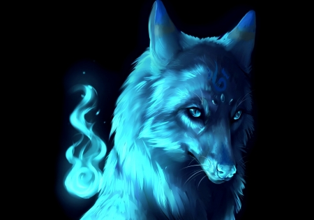 Spirit Of The Blue Wolf