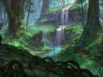 Drawing The Waterfall