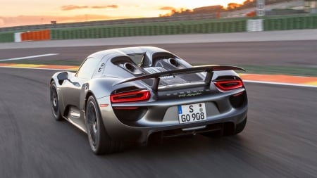 Porsche 918 Spyder - Car, Spyder, Transport, Sports, Porsche, 918