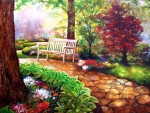 Springtime Park