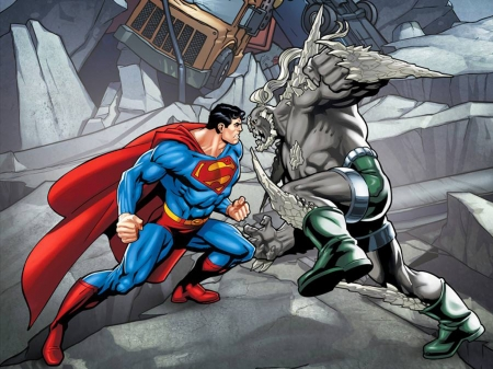 Superman Vs Doomsday Other Entertainment Background Wallpapers