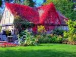 cottage spring garden