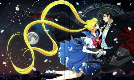 Sailor moon and tuxedo mask other anime background - Princess luna screensaver ...