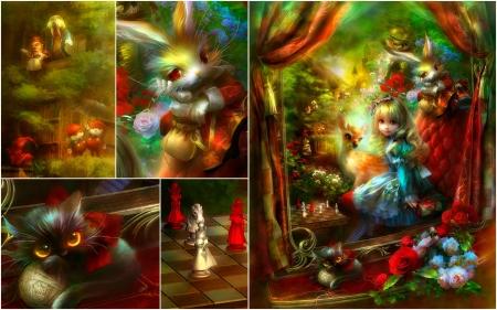 fantasy alice in wonderland