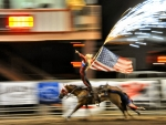 Cowgirl Stunt