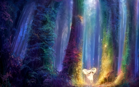 Land of magic fantasy abstract background wallpapers on desktop nexus image 1969722 - Magic land wallpaper ...