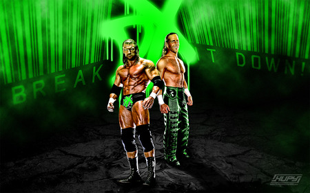D generation X - wrestling, dx