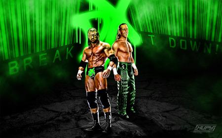 D generation X - wrestling, dx