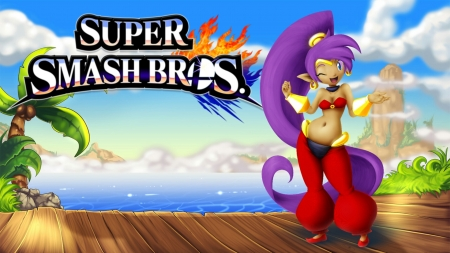Super Smash Bros Shantae Wallpaper - Video Games, Shantae, cute, 3ds, Geine, Nintendo, Gameboy Color, Super Smash Bros, Wii U