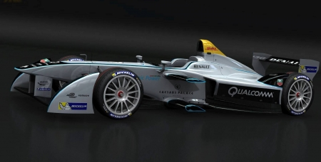 Formula E Racing Car - Speed, Electric, Formula E, Racing Car