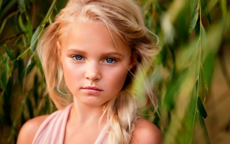 face, pink, eyes, cute, pure, sweet, Belle, comely, childhood, child ...