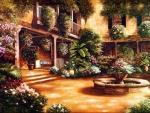 Floral Patio