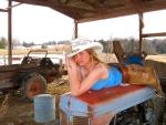 Cowgirl On Break