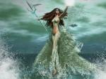Amphitrite Goddess Of The Sea