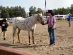 Cowgirl At A Horse Show