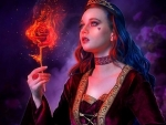 Princess & the Flames Rose