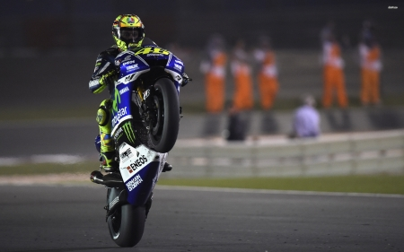 valentino rossi - track, rossi, valentino, motorcycle