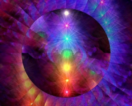 Crystal Chakras 3d And Cg Abstract Background Wallpapers On