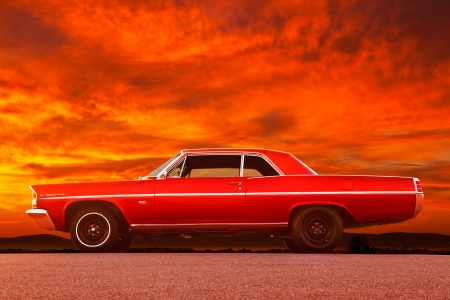 1963-Pontiac-Catalina - Classic, GM, 1963, Muscle