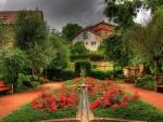 Beautiful garden in Schmalkalden Germany