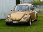 Golden Volkswagen